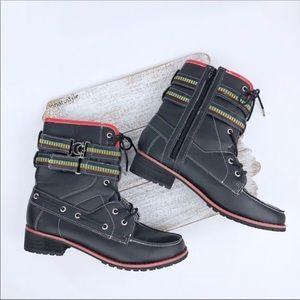 COOGI Selma Black Mid-Calf Boots Size 10